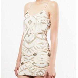 Saylor sequin Talia dress